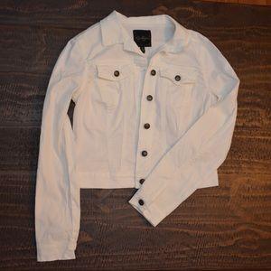 Jessica Simpson White Denim Jacket
